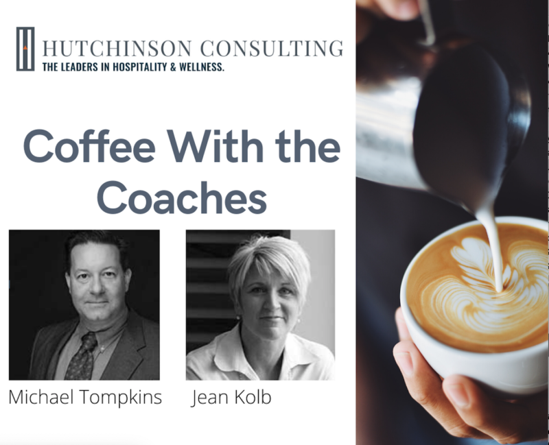 Coffee with the coaches flyer