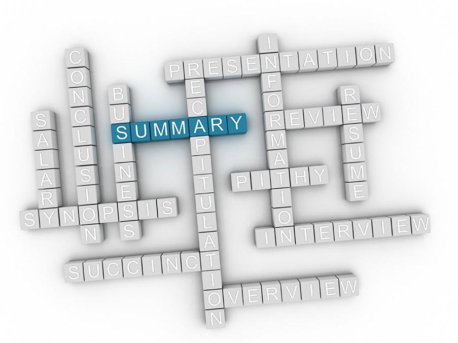 Resume Writing Crossword